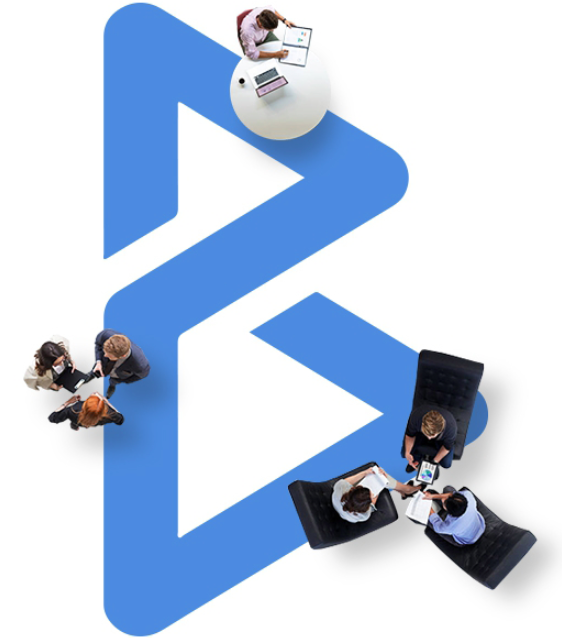 blesen logo with people icon